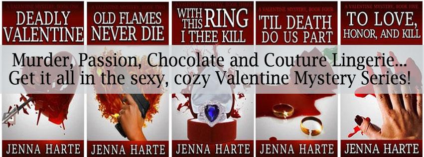 Valentine Mystery Series by Jenna Harte