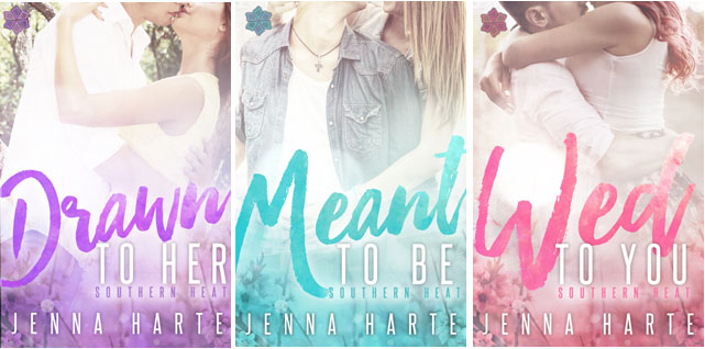 Southern Heat Romance Series by Jenna Harte