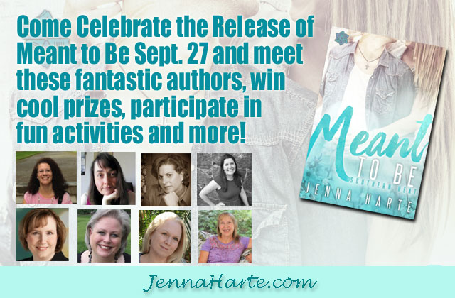 Meant to Be Facebook Party Author Lineup