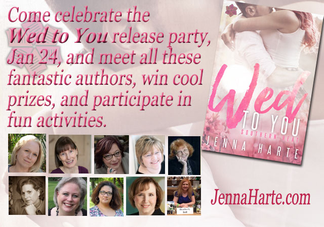 Wed to You Facebook Party Author Lineup