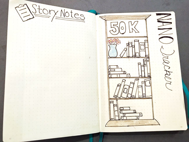Story Notes, NaNoWriMo Tracker