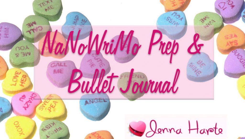 NaNoWriMo October Prep Bullet Journal