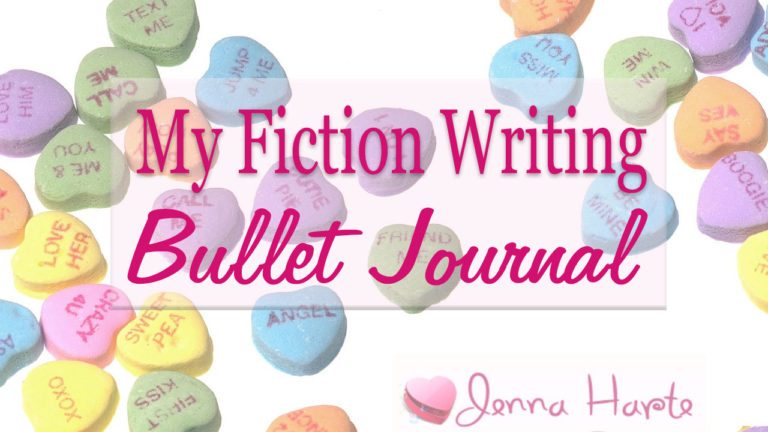My Fiction Writing Bullet Journal