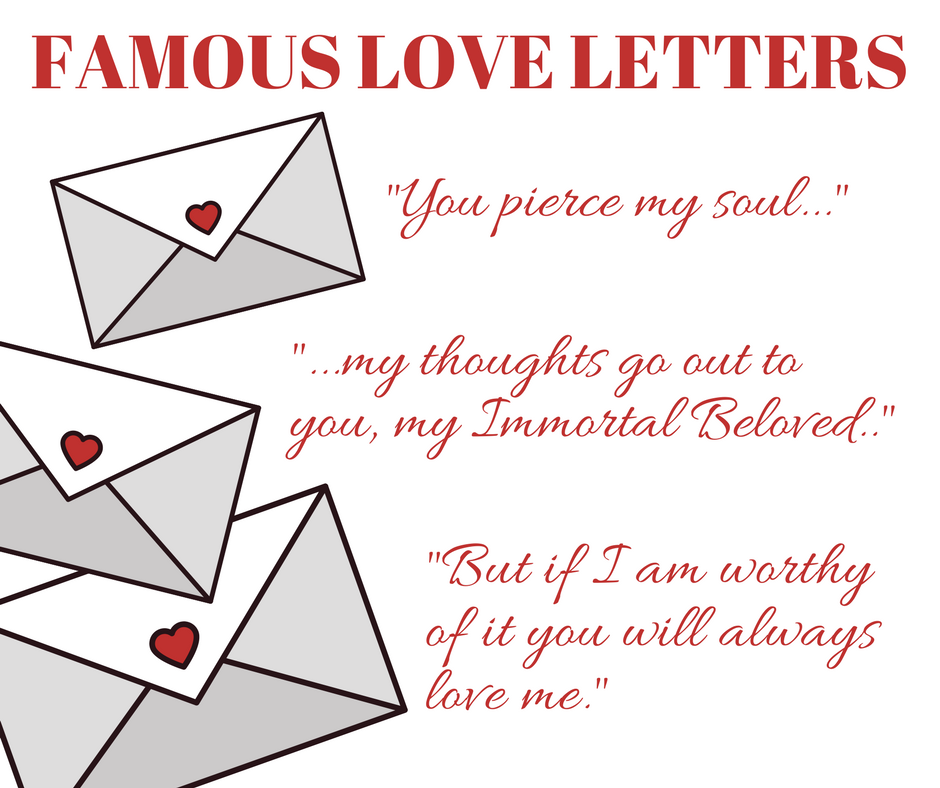 Famous Love Letters: Romantic and Erotic